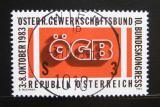 Poštovní známka Rakousko 1983 Kongres odborů Mi# 1754