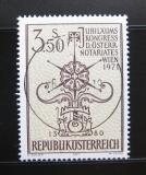Poštovní známka Rakousko 1971 Kongres notářů Mi# 1359