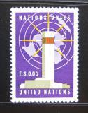 Poštovní známky OSN Ženeva 1969 Ústředí OSN Mi# 1