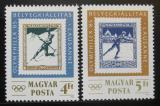 Poštovní známky Maďarsko 1985 OLYMPHILEX Mi# 3743-44