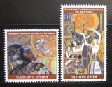 Poštovní známky OSN Ženeva 1995 Ženská konference Mi# 271-72