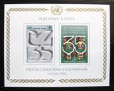 Poštovní známky OSN Ženeva 1980 Výročí OSN Mi# Block 2