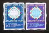 Poštovní známky OSN Ženeva 1976 Domov Mi# 58-59