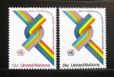 Poštovní známky OSN New York 1976 WFUNA, 30. výročí Mi# 293-94
