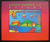Poštovní známka OSN New York 1997 Sumit Země Mi# Block 14