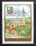 Poštovní známka Rakousko 1988 Ansfelden, 1200. výročí Mi# 1935