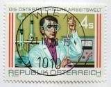 Poštovní známka Rakousko 1988 Laboratorní asistent Mi# 1939