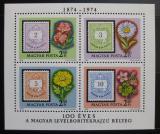 Poštovní známky Maďarsko 1974 První poštovní známky Mi# Block 105
