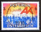 Poštovní známka Rakousko 1995 Komora pracujících Mi# 2147