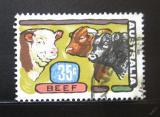 Poštovní známka Austrálie 1972 Krávy Mi# 494