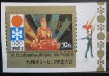 Poštovní známka Maďarsko 1971 ZOH Sapporo Mi# Block 86