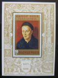 Poštovní známky Maďarsko 1971 Umění, Albrecht Dürer Mi# Block 81