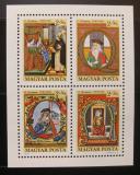 Poštovní známky Maďarsko 1970 Den známek Mi# Block 77