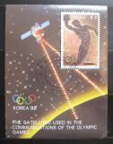 Poštovní známka Guyana 1987 LOH Soul Mi# 2062 Block