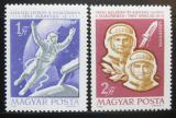 Poštovní známky Maďarsko 1965 Let do vesmíru Mi# 2120-21