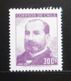 Poštovní známka Chile 1966 Prezident Jorge Montt Mi# 653