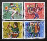Poštovní známky Švýcarsko 1990 Vývoj dítěte Mi# 1431-34