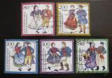 Poštovní známky Německo 1993 Tradiční kostýmy Mi# 1696-1700