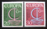 Poštovní známky Německo 1966 Evropa CEPT Mi# 519-20