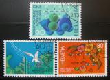 Poštovní známky Švýcarsko 1992 Výročí a události Mi# 1465-67