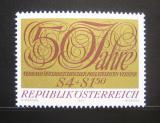 Poštovní známka Rakousko 1971 Federace filatelistů Mi# 1380