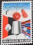 Poštovní známka Belgie 1965 Výstava Textirama Mi# 1374