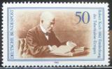 Poštovní známka Německo 1982 Robert Koch, TBC Mi# 1122