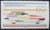 Poštovní známka Německo 1983 Mezinárodní automobilová show Mi# 1182