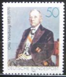 Poštovní známka Německo 1983 Otto Warburg, biochemik Mi# 1184