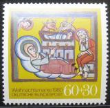 Poštovní známka Německo 1980 Vánoce Mi# 1066