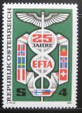 Poštovní známka Rakousko 1985 Volný obchod Mi# 1813