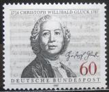 Poštovní známka Německo 1987 Christoph W. Gluck, skladatel Mi# 1343