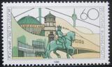 Poštovní známka Německo 1988 Düsseldorf, 700. výročí Mi# 1369
