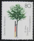 Poštovní známka Německo 1988 Služby dobrovolníků Mi# 1373