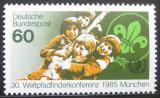 Poštovní známka Německo 1985 Mezinárodní rok mládeže Mi# 1254