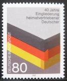 Poštovní známka Německo 1985 Reintegrace uprchlíků Mi# 1265