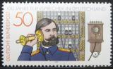 Poštovní známka Německo 1977 Století telefonu Mi# 947