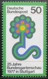 Poštovní známka Německo 1977 Výstava zahradnictví Mi# 927