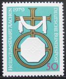 Poštovní známka Německo 1979 Pouť do Aachenu Mi# 1017