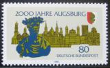 Poštovní známka Německo 1985 Augšpurk, 2000. výročí Mi# 1234