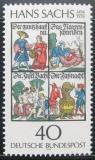 Poštovní známka Německo 1976 Knihy, Hans Sachs Mi# 877
