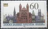 Poštovní známka Německo 1990 Speyer, 2000. výročí Mi# 1444