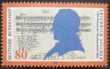 Poštovní známka Německo 1989 Friedrich Silcher, skladatel Mi# 1425
