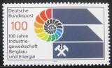 Poštovní známka Německo 1989 Odbory těžařů Mi# 1436