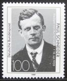 Poštovní známka Německo 1989 Paul Schneider Mi# 1431