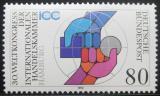 Poštovní známka Německo 1990 Mezinárodní obchodní komora Mi# 1471