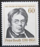 Poštovní známka Západní Berlín 1981 Peter Beuth Mi# 654