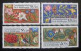 Poštovní známky Západní Berlín 1985 Kniha modliteb Mi# 744-47 Kat 8€
