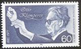 Poštovní známka Západní Berlín 1985 Otto Klemperer, dirigent Mi# 739