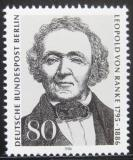 Poštovní známka Západní Berlín 1986 Leopold von Ranke, historik Mi# 759